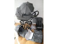 Baby style 3in1 pram. Excellent condition.