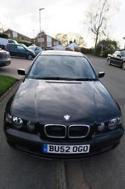 BMW 316 Compact..LOW MILES...96000