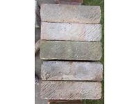 67 x LBC Brecken Grey bricks -some labeled Redland Fletton.Imperial measurements