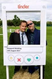 wedding photo both