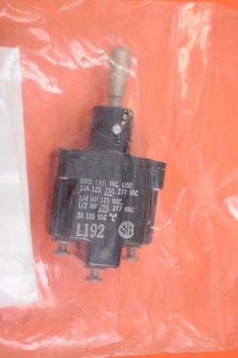 Honeywell Ms27734-27 Toggle Switch 15a 28vdc Panel Mount Lot Of 3