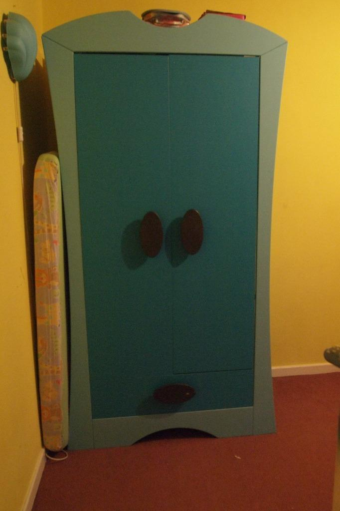 Ikea Blue Mammut Wardrobe And Chest Buy Sale And Trade Ads