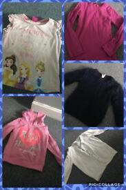 4-5 yr girls clothes bundle