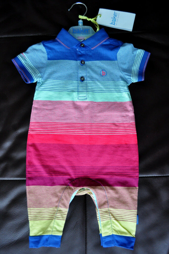 84e702a2c Ted Baker Baby boys romper bodysuit all in one