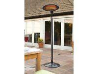 La Hacienda adjustable standing electric outdoor heater 69500 **new in box ** £55 M'BRO TS8