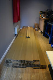 High Quality Compsite Decking - Teak/Golden Brown - New and Unused