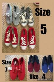 Trainers canvas shoes
