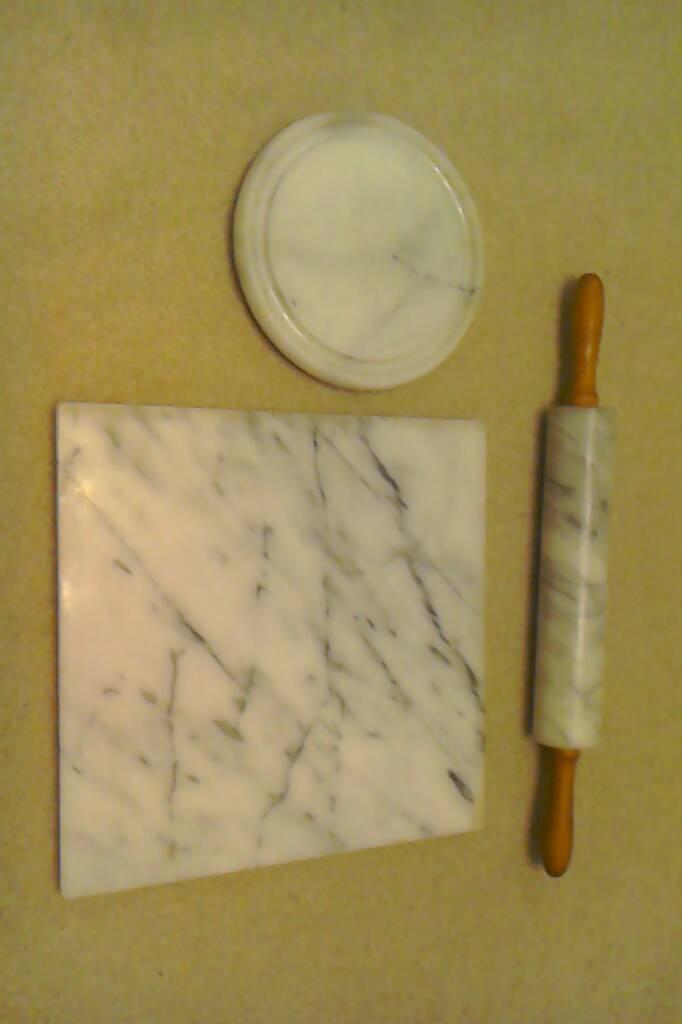 Marble kitchen utensils