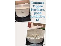 Tommee Tippee steriliser
