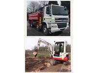 Grab wagon and digger services