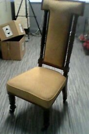 very old chair in good condition
