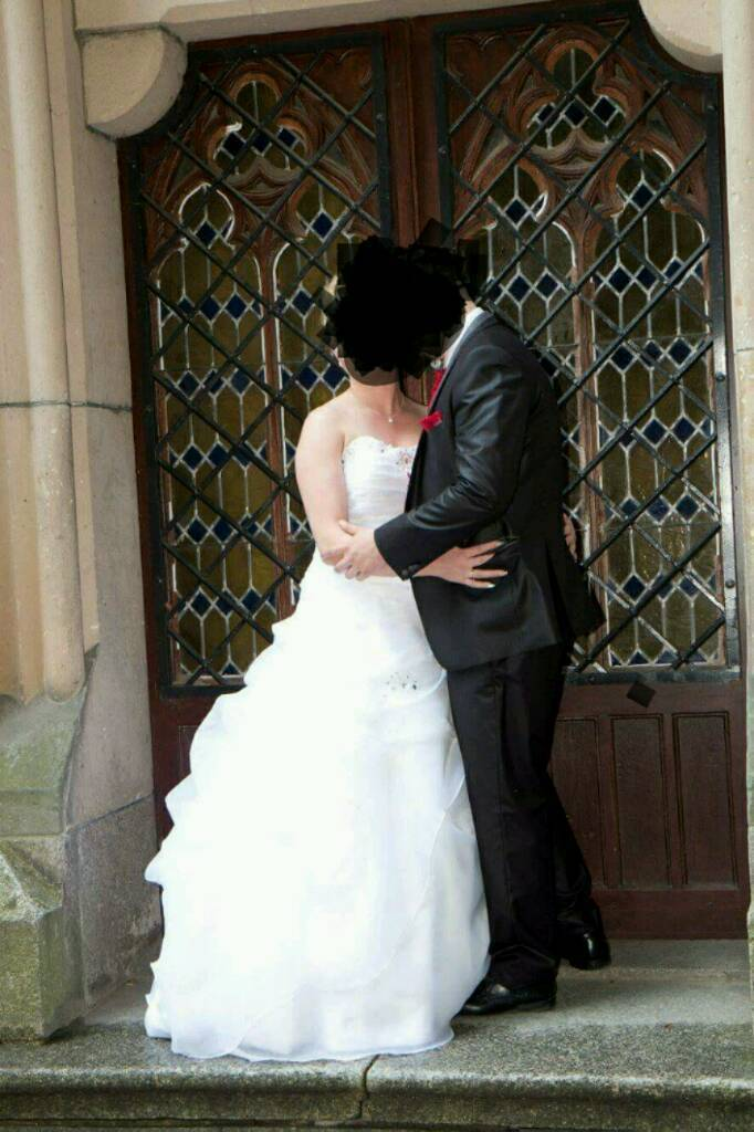 Wedding dress with all accessories