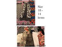 Ladies size 18 clothing bundle (14 items)