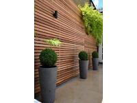 GARDEN -PATIO- DECKING- WOOD FENCING-BICK WALL- GAZEBO -SHED - EXTERIOR PAINTING