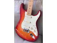 Fender Stratocaster American Deluxe 2011 - Cherry Burst, Ash Body, USA, MIA
