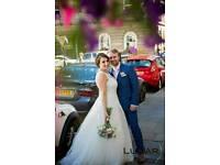 Italian Lace wedding dress fits size 14