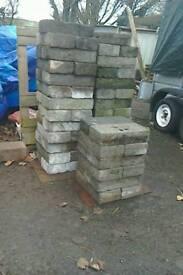 Quantity of breeze / concrete blocks 50p each