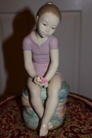YOUTH FIGURINE by Nao model No 00683 boxed.