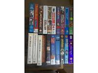 VHS video collection, 20 assorted titles