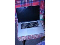 "apple macbook pro 2011 15"" screen intel core i7 processor, cheap quick sale, **can post**"