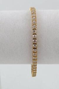 Bracelet or (u004636) avec zircon