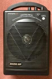Amazing Amp BT Amplifier PA system portable Guitar portable speaker