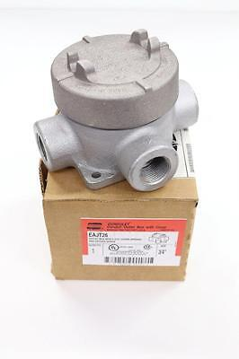 Crouse-hinds Condulet Eajt26 Conduit Outlet Box Wcover - New In Box