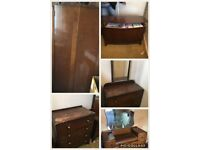 1930's Furniture for restoration or shabby chic. Sensible offers for all or part lot.