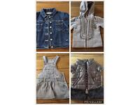 Clothes girl 2 years (jackets, hoodie, dress)