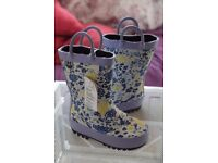 NEW wellington boots for children - size 4