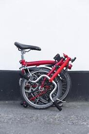 Brompton m6l brand new parts full service extra long seatpost