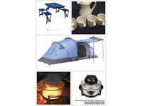 Tent and camping gear