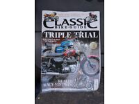 Classic motor cycle magazines, back issues assortment, (20 mags)