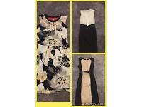 3x Next dresses size 8