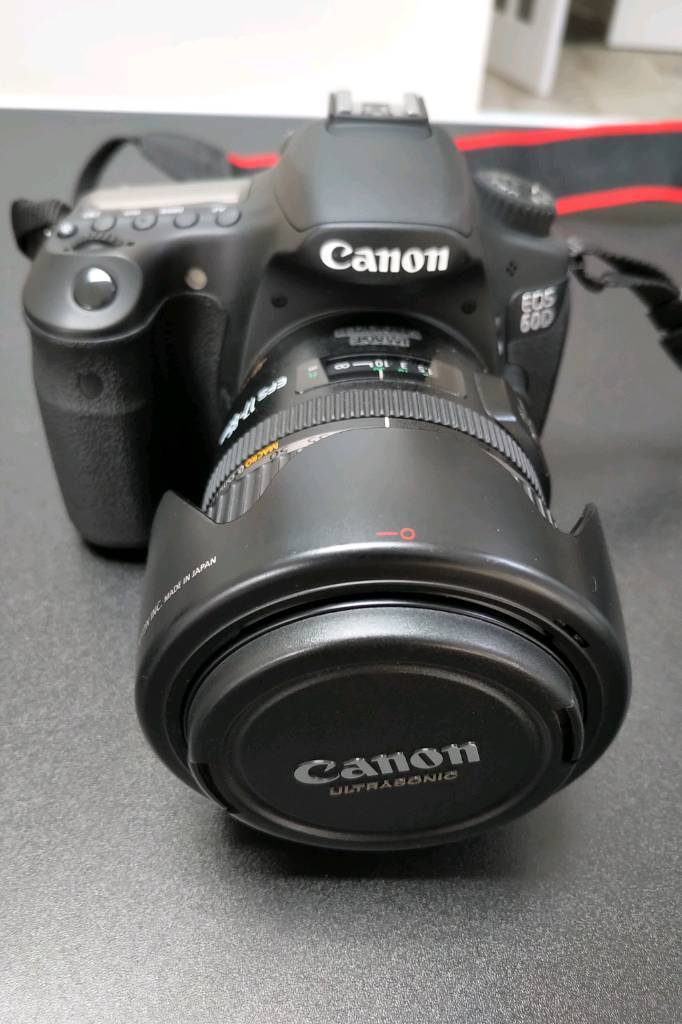 Canon 60D with Canon EFS 17-85mm IS USM Lens | in Wokingham