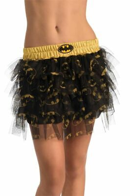 Batgirl Costume Accessories (Batman's BATGIRL TEEN SKIRT with Sequins Costume Accessories Standard)