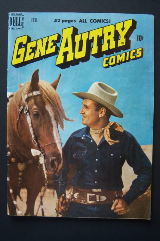 Gene Autry Comics #36 1950