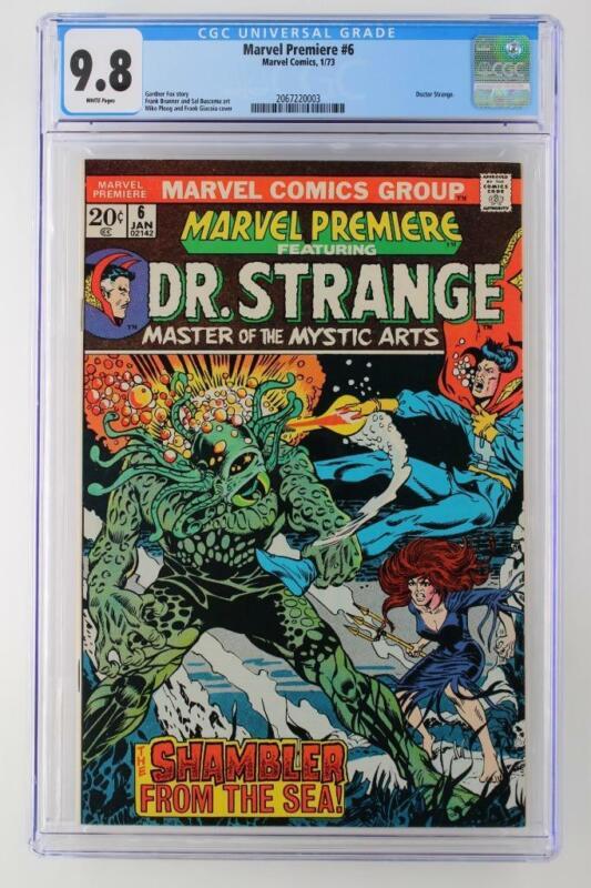 Marvel Premiere #6 -NEAR MINT- CGC 9.8 NM/MT - Marvel 1973 - Doctor Strange!