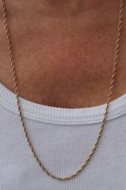 """9ct Gold Necklace - 26"""""""