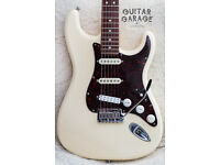 FENDER USA American Standard Stratocaster Aged White guitar – 1988 neck, Seymour Duncan, CAN POST!