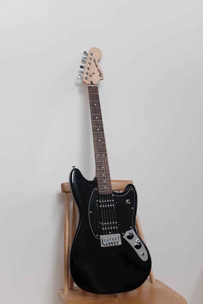 Squier Bullet Mustang guitar with upgrades | in Poringland, Norfolk |  Gumtree