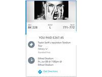 Taylor Swift Reputation concert tickets Manchester
