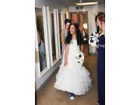 Size 6 petite wedding dress