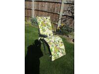 2 x Sturdi Garden Relaxer Chairs