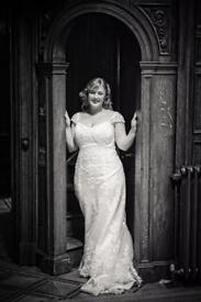 Wedding dress Maggie Soterro size 14-16 (Ivory)