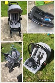 Graco Fastaction DLX Travel System: Excellent Condition!