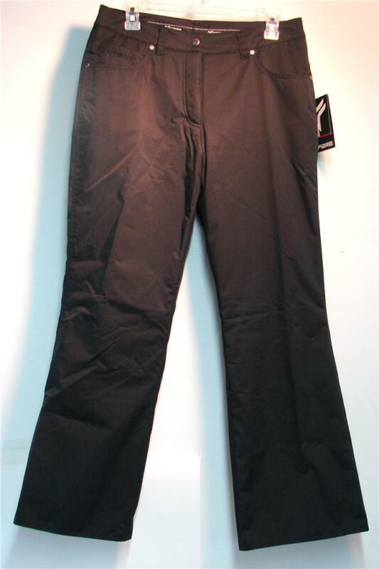 Fera Ladies Britney Snow Ski Snowboard Pants Black Size 14 Long NEW
