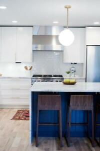 Toronto's Condo Experts! Custom Kitchen Renovations-For almost the same price as IKEA! BUT Custom made to your specs!