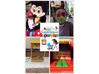Candy floss, bouncy castle, slush puppy hire