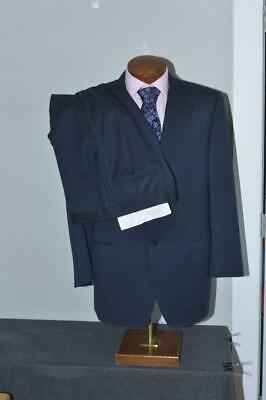 Canali Brown Label Men's 44 R Suit 2-button 2-Vent Flat Slacks 36 x 31.5 #514